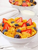 Cornflakes With Fruit