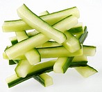 Cucumber Batons Cut Out