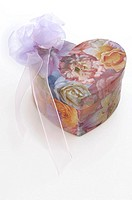 Heartshape gift box