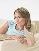 Woman on the sofa (thumbnail)