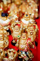 Chinese Laughing Buddhas, Sill Life