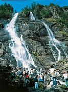 Italy - Trentino Region - Genova Valley - Adamello-Brenta Natural Park - Nardis Falls