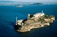USA. California. San Francisco. Alcatraz island