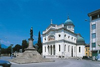 Italy - Veneto Region - Schio - Church of St  Anthony