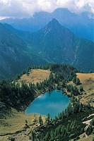 Italy - Friuli Venezia Giulia Region - Carnic Alps - Lake Bordaglia