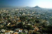 Athens, view from the Acropolis