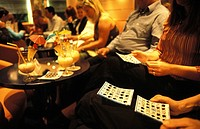 Bingo night on cruise ship the MSC Lirica