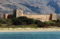 Crete, the castle of Frangokastello