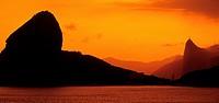 Brazil, Rio de Janeiro, Sugar Loaf, sunset