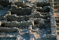 Israel, near the Dead Sea, ruins of the Masada fortress