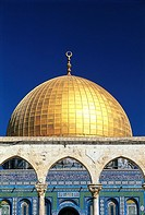 Israel, Jerusalem, Dome of the Rock (thumbnail)