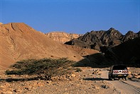Israel, Negev desert, 4x4 (thumbnail)