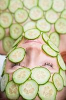 Cucumber mask  Finland