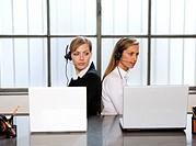 women, office