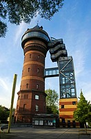 Watertower, Aquarius, Water, Museum, Mulheim, a d , Ruhr, North, Rhine-Westphalia, Germany, Aquarius, Wassermuseum, Mühlheim, a d , Ruhr,