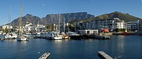 A Calm Blue Afternoon at Granger Bay Marina  Cape Town, Western Cape Province, South Africa