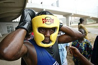 Boxing is a national sport in Nigeria and many hope to break through to national level