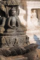 Nepal, Kathmandu, Swayambunath Stupa Monkey Temple
