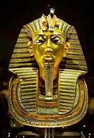 Toutankahmon mask, Cairo museum, Cairo, Egypt