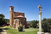 Collegiate church. San Martin de Elines. Cantabria. Spain.