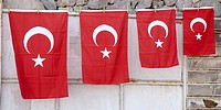 Turkish flags, Turkey