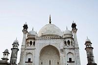 Facade of a building, Bibi Ka Maqbara, Aurangabad, Maharashtra, India