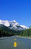 Highway 40, Kananaskis Country, Alberta, Canada