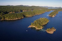 Prevost Island, Gulf Islands National Park Reserve, british columbia, canada