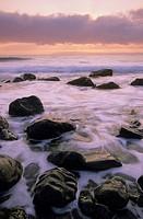 Sunset, Mistaken Point, Avalon Peninsula, NewFoundLand and Labrador, Canada