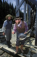 Historic Barkerville with period re-enactments, British Columbia, Canada