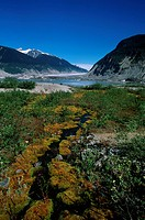 Coast Range, Klinaklini glacier, Nimmo Bay heli ventures, British Columbia, Canada