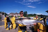 Campbell River´s Painter´s Lodge salmon fishing resort, Vancouver Island, British Columbia, Canada