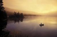 fishing, fly-fishing, Little Charlotte Lake, British Columbia, Canada