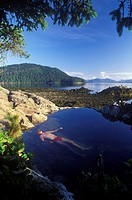 Hot Springs Island, Gwaii Haanas National Park reserve, British Columbia, Canada
