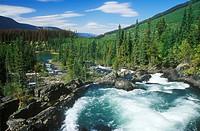 Matthew River near Ghost Lake Recreation Site, British Columbia, Canada