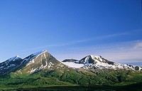 Kusawak Range, Coast Mountains, Tatshenshini-Alsek Provincial Park, British Columbia, Canada