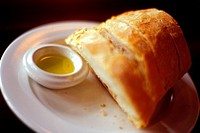 Crusty French Bread and Olive Oil