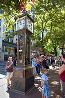 Water Clock, Gastown, Vancouver, British Columbia