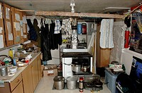 Cabin Interior, Cambridge Bay , Nunavut