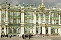 Russia. St. Petersburg. Winter Palace. The Hermitage Museum.