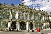 Russia. St. Petersburg. Winter Palace. Hermitage Museum