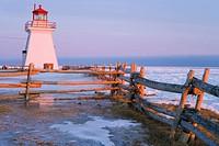 Lighthouse, Gaspesie Region, Bonaventure, Quebec