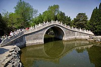 China, Beijing, The Summer Palace, Half Wall Bridge
