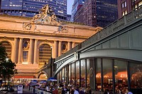 Pershing Square restaurant, Manhattan, NYC, USA
