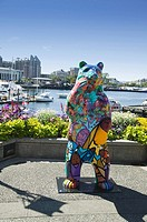 Bear Statue, Inner Harbour, Victoria, BC