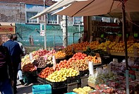 Outdoor Fruit Stands, Roncesvalles Village, Toronto, Ontario