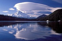 Mount Hood Reflected in Lost Lake