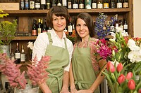 Mother and Daughter Florist Team