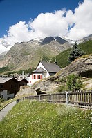 Switzerland, Canton Wallis, Saas Fee