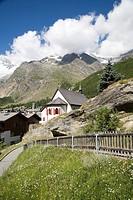 Switzerland, Canton Wallis, Saas Fee